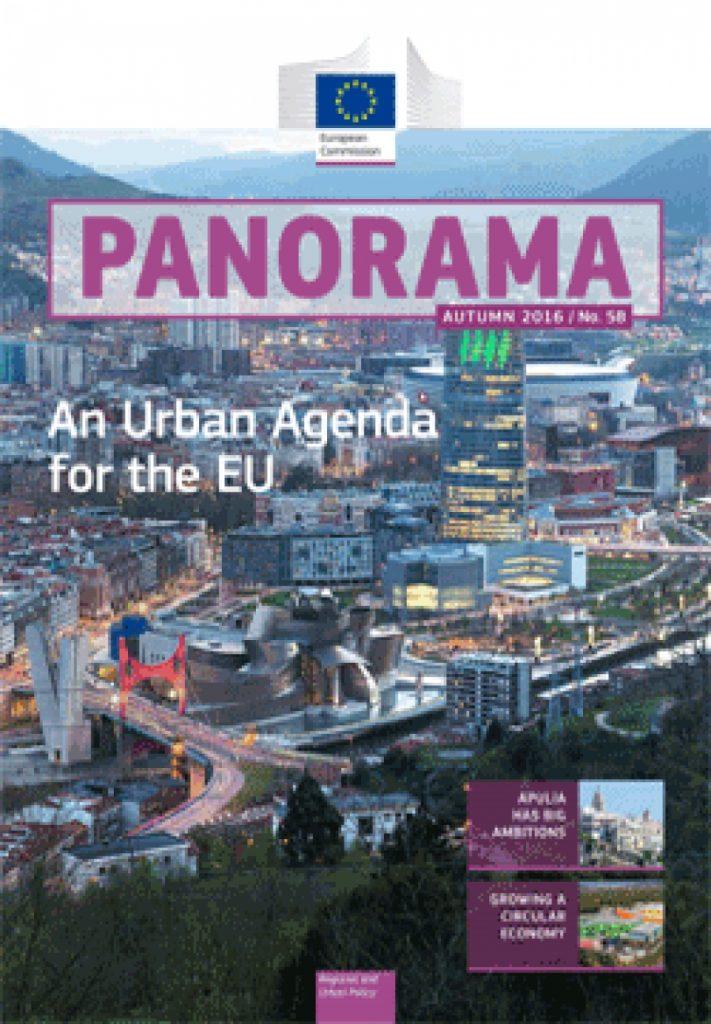 Περιοδικό της Γενικής Διεύθυνσης Περιφερειακής Πολιτικής «Panorama», Τεύχος 58, Φθινόπωρο 2016