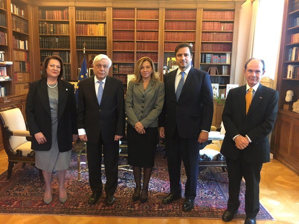 Συνάντηση της «Ελληνικής Παραγωγής» με τον Πρόεδρο της Δημοκρατίας