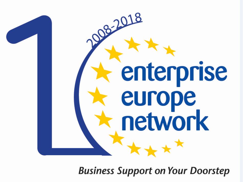 Ενημερωτική Εγκύκλιος Νοεμβρίου 2018 του Enterprise Europe Network-Hellas του ΣΒΘΚΕ