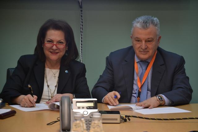 Υπογραφή Πρωτοκόλλου Συνεργασίας μεταξύ του Enterprise Europe Network-Hellas του ΣΒΘΚΕ και της Συνεταιριστικής Τράπεζας Θεσσαλίας